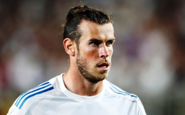 Soccer Football - Real Madrid vs Manchester City - International Champions Cup - Los Angeles, USA - July 26, 2017   Real Madrid's Gareth Bale   REUTERS/Lucy Nicholson